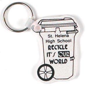 Custom Shaped Recycled Key chains - ImprintItems com Custom Printed