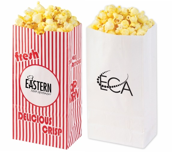 Item Pbag Coated Popcorn Bags Red And White Striped Or Solid