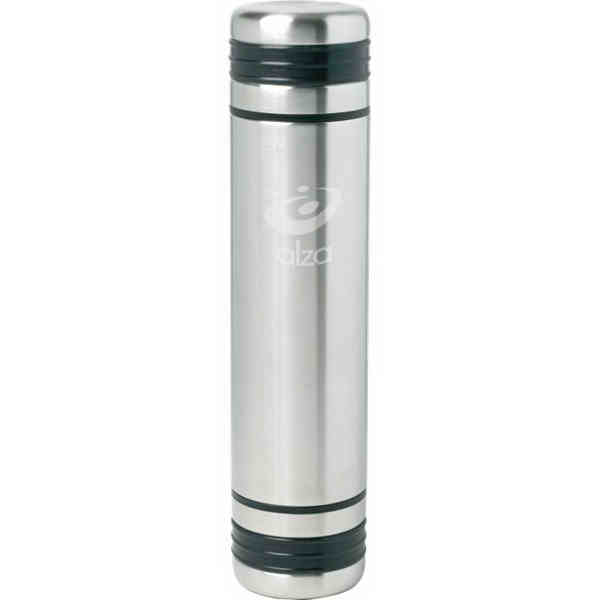 Item #SL45PS Orion - 24 oz 3-in-1 Vacuum Insulated Bottle with easy pour release button.