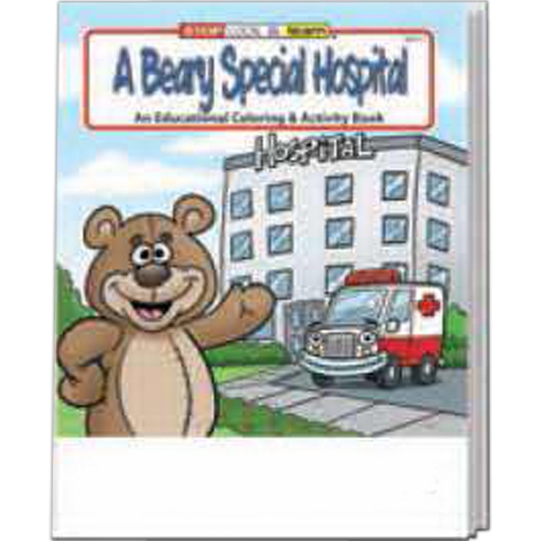 Item #0395FP A Beary Special Hospital Coloring Book Fun Pack