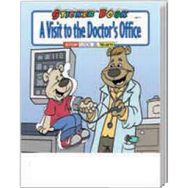 Item #1035 A Visit To The Doctor's Office Sticker Book