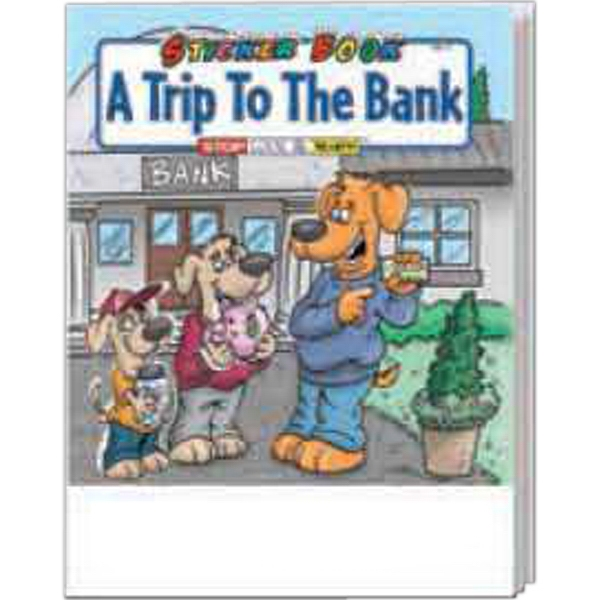 Item #1045 A Trip To The Bank Sticker Book