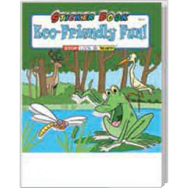 Item #1075FP Eco-Friendly Fun Sticker Book Fun Pack