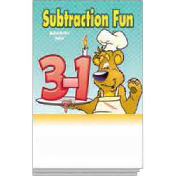 Item #0099 Subtraction Fun Activity Pad