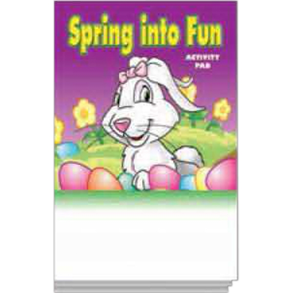 Item #0447FP Spring Into Fun Activity Pad Fun Pack