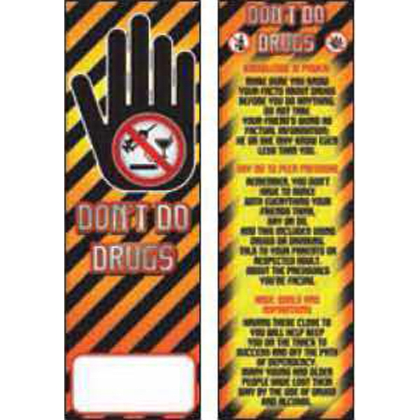Item #BM-1910 Don't Do Drugs Bookmark