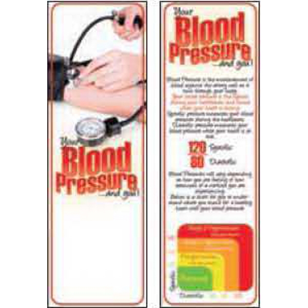 Item #BM-1970 Your Blood Pressure and You Bookmark