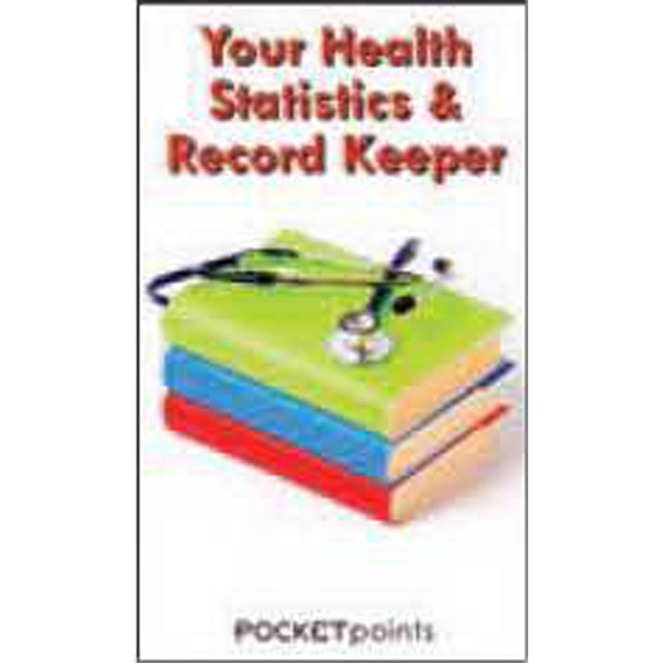 Item #PP-1645 Your Health Statistics & Record Keeper Pocket Pamphlet