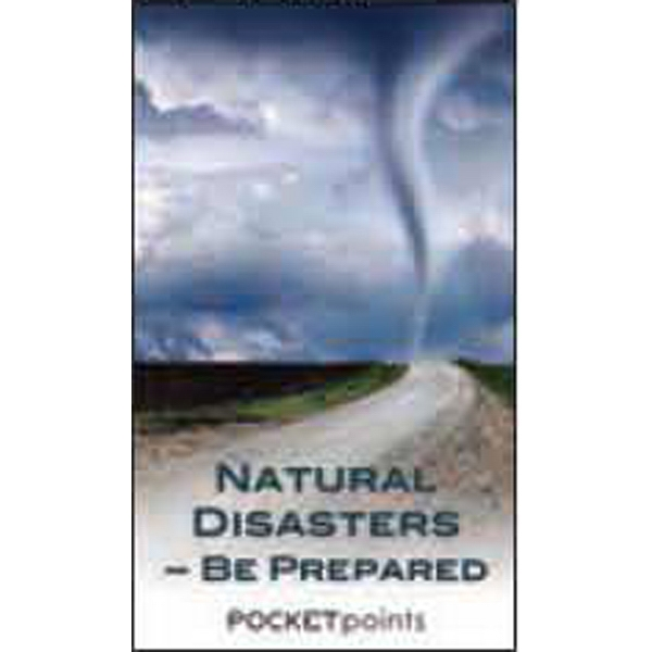 Item #PP-1680 Natural Disasters-Be Prepared Pocket Pamphlet