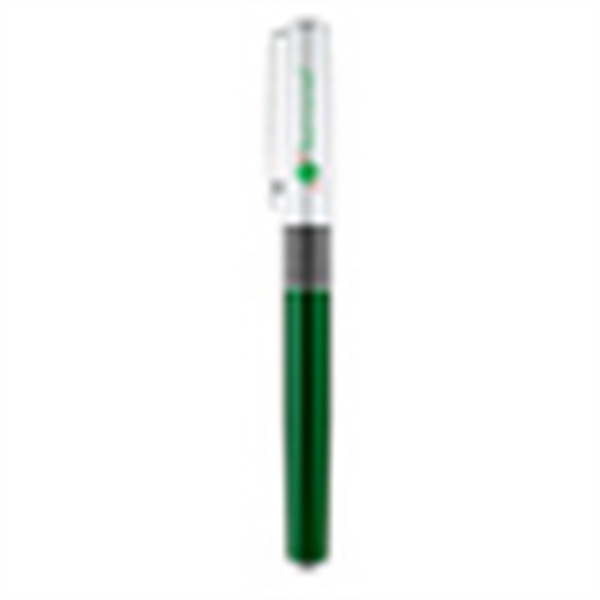 Item #PA-101R Chrome clip cap off rollerball pen