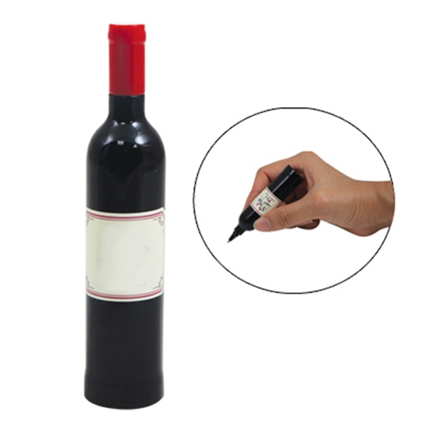 Item #PY-4031 Wine Bottle Pen
