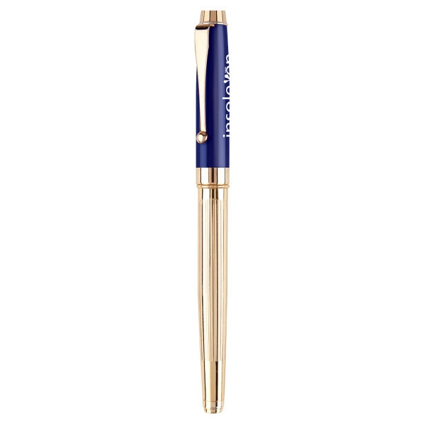 Item #PE-150R Metal Cap Off Rollerball Pen