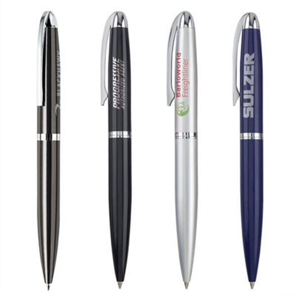 Item #PJ-301B Metal Twist Action Ballpoint Pen