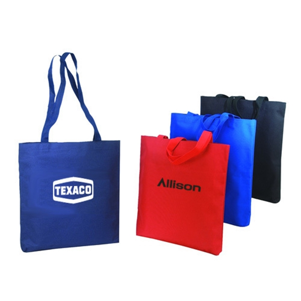 Item #B-8230 Poly Shopping Tote Bag