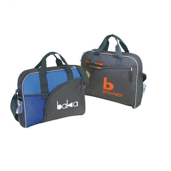 Item #B-8314 Poly Zippered Business Briefcase