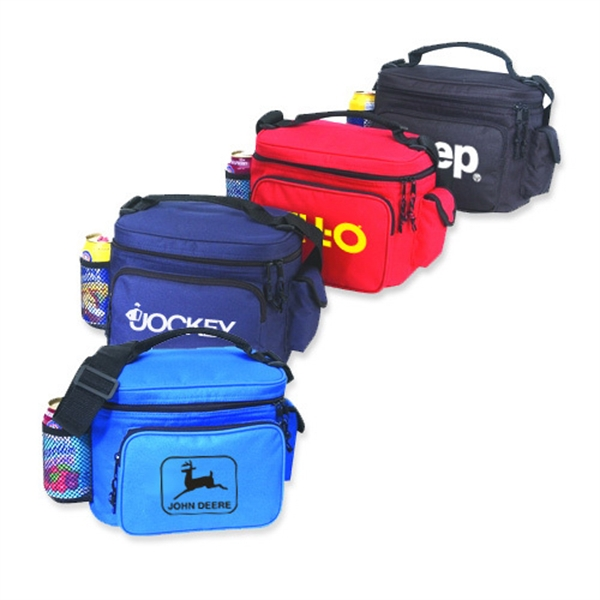 Item #B-8517 Poly Cooler Lunch Bag