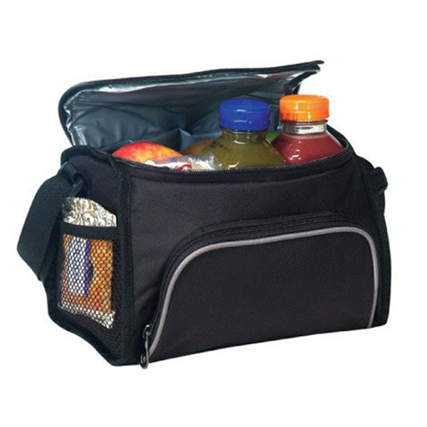 Item #B-8546 Poly 6 Pack Cooler Bag