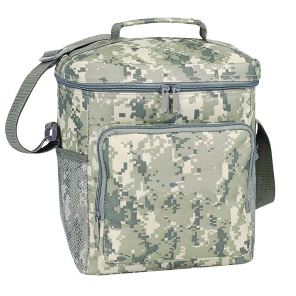 Item #B-8556 Poly Deluxe Digital Camo Cooler