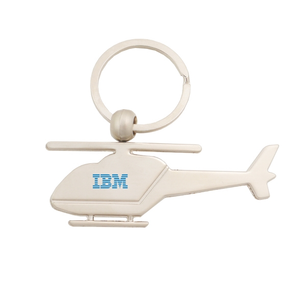 Item #KW-1041 Metal Helicopter Key Tag