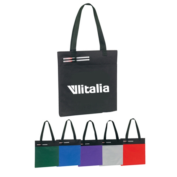 Item #B-6207 Poly Jumbo Tote Bag