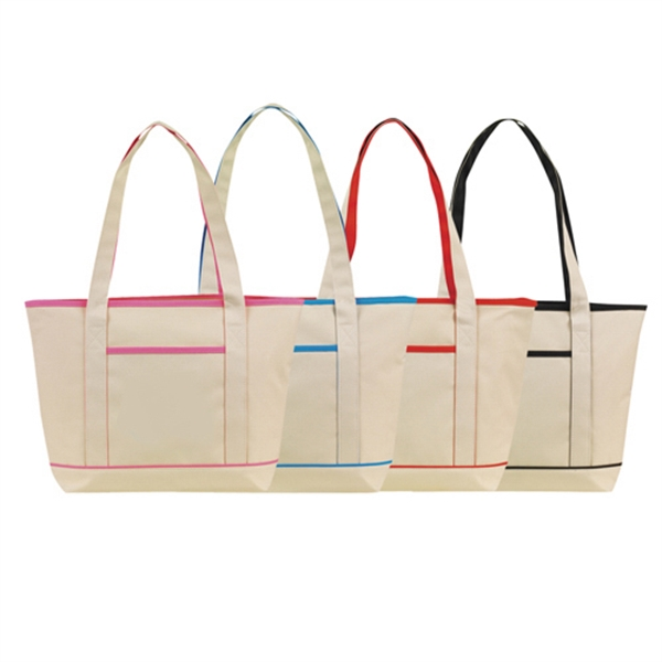 Item #B-6234 Poly Boat Tote Bag