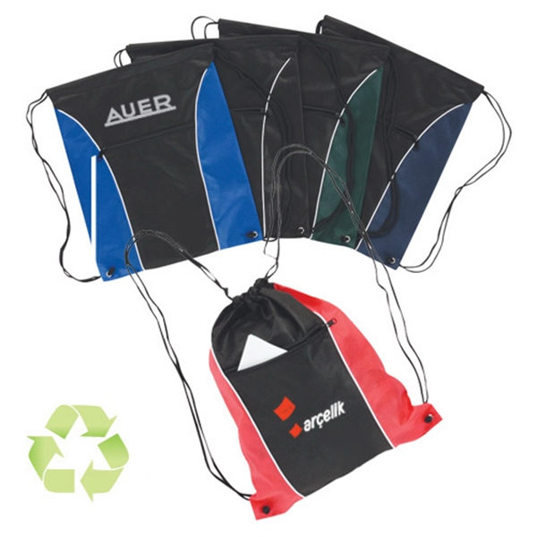 Item #B-6402 Non Woven Drawstring Backpack
