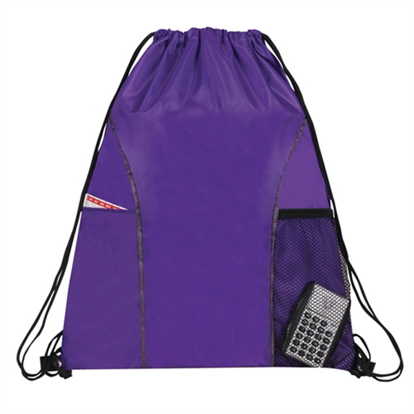 Item #B-6419 Drawstring Backpack