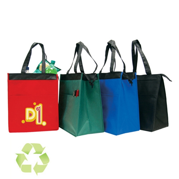 Item #B-6507 ECO Non Woven Cooler Tote Bag