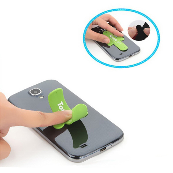 Item #DW-1009 Silicone One Touch Phone Stand