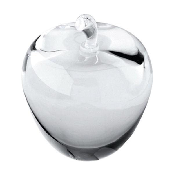 Item #DY-2045 Crystal Apple Paperweight
