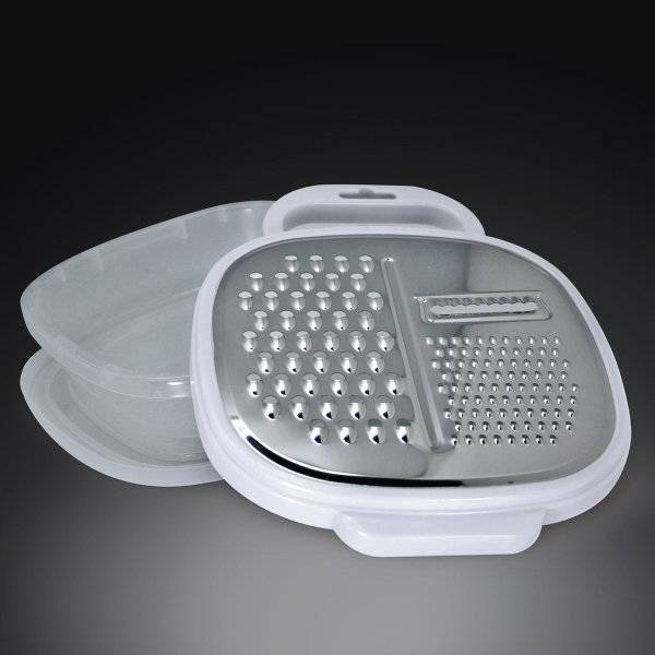 Item #HW650 Grate and Stow - Grater with Container