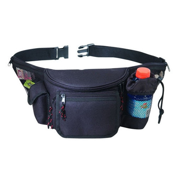 Item #B-8829 Deluxe Seven Pocket Sports Fanny Pack