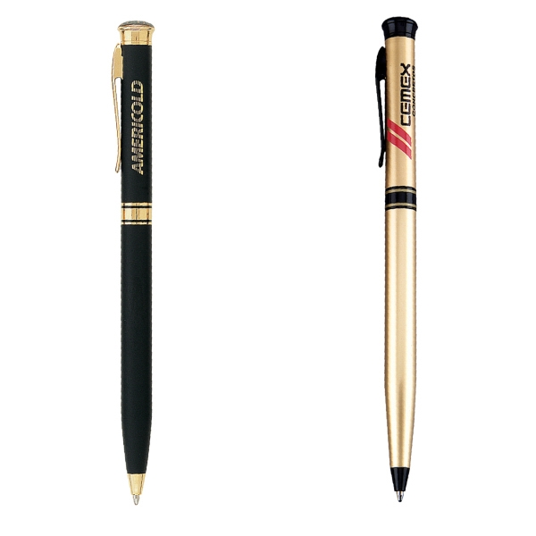 Item #PT-112 Metal Twist Action Ballpoint Pen