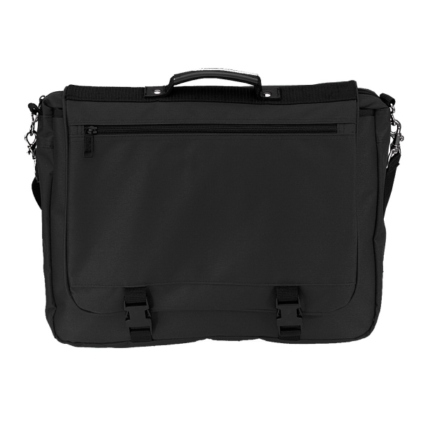 Item #B-8319 Poly Deluxe Expandable Briefcase Messenger