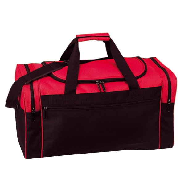 Item #B-8927 Poly Duffel Bag