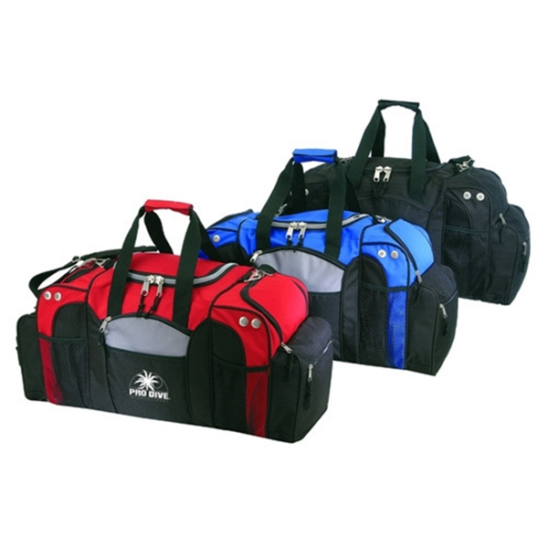 Item #B-8939 Poly Deluxe Duffel Bag