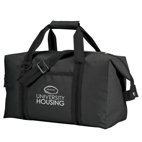 Item #B-7534 Poly Carry-All Travel Cooler Bag