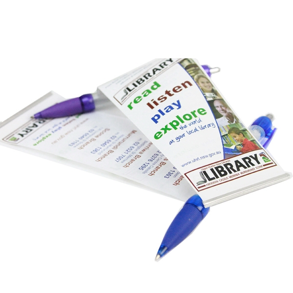 Item #PW-3019 Stay-Open Plastic Banner Pen