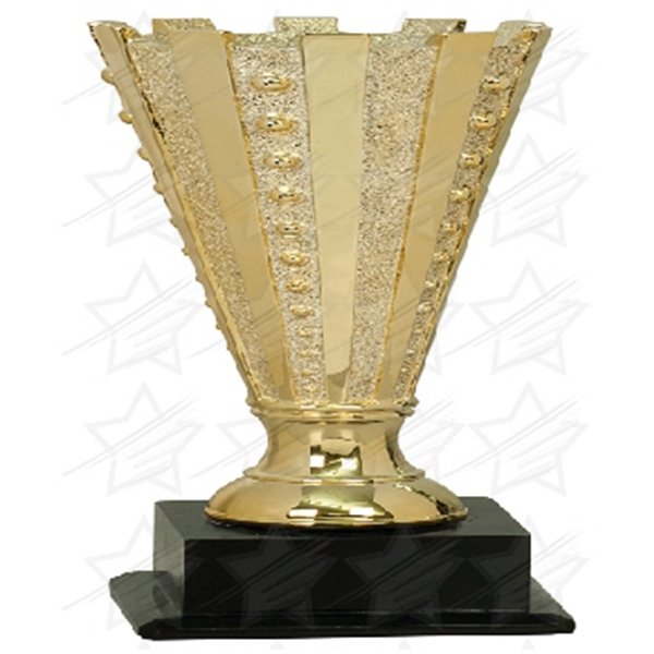 Item #AR186 12 1/2 inch Gold Completed Crown Cup Resin