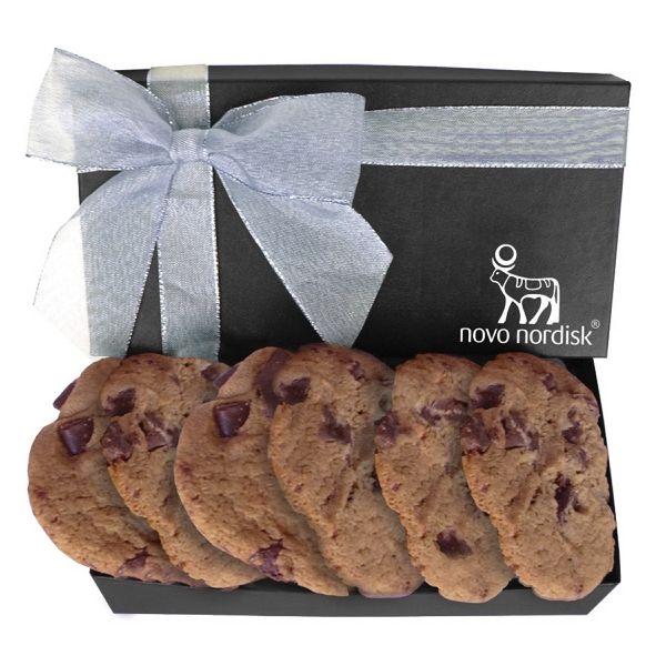 Item #COOKIES GB2G The Executive Cookie Gift Box - Large Chocolate Chip Cookies