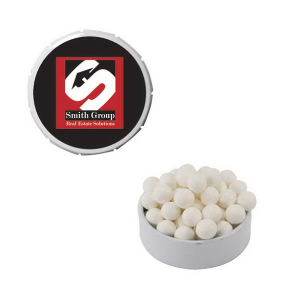 Item #SST15-MINTS Snap-Top Mint Tin with Mints and Breath Fresheners