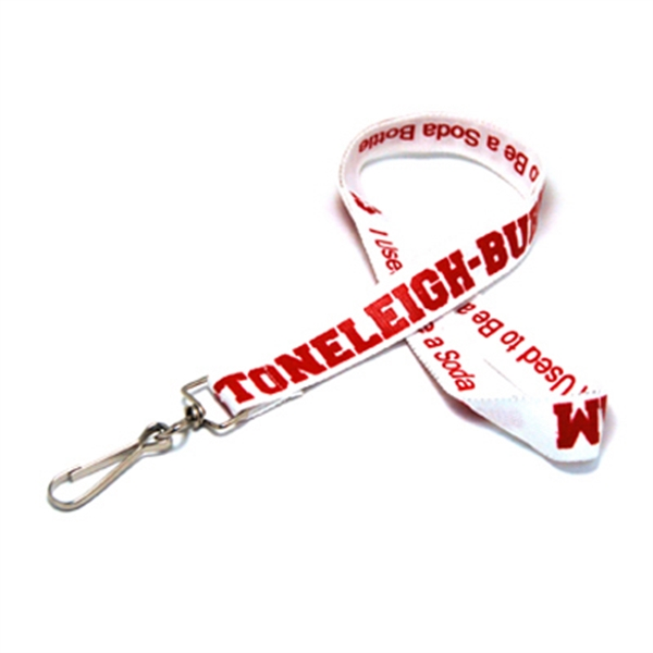Item #SSREC-34 Silk Screened Recycled Lanyard