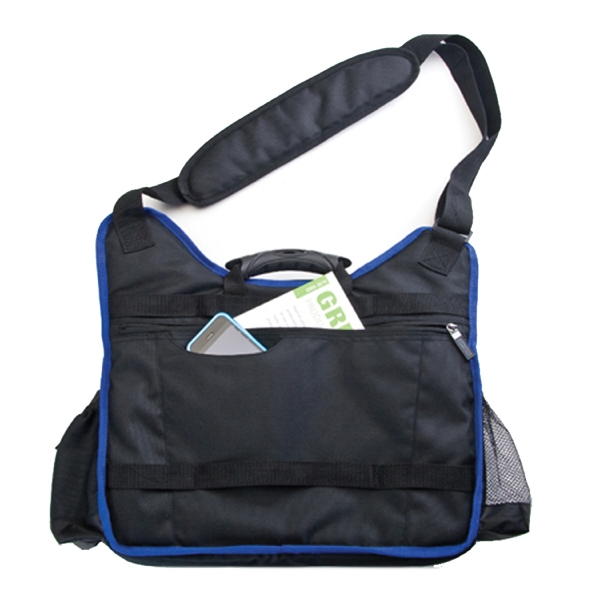 Item #B-7303 Poly Laptop Shoulder Bag
