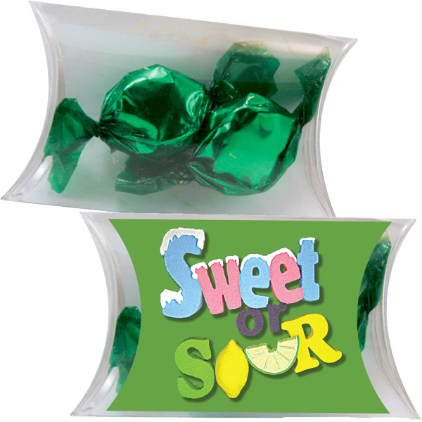 Item #PILLOW-1CA-FC Small Pillow Pack with Foil Candy