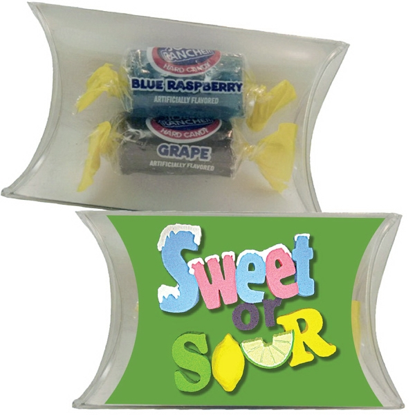 Item #PILLOW1CA-JR Small Pillow Pack with Jolly Ranchers Hard Candy