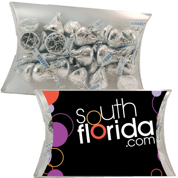 Item #PILLOW3CB-HK Large Pillow Pack with Hershey Kisses Chocolate Candy