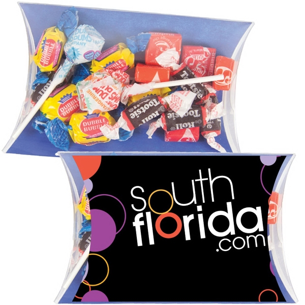 Item #PILLOW3CC-MIX Pillow Pack with Dumdums, Tootsie Rolls, & Starbursts Candy