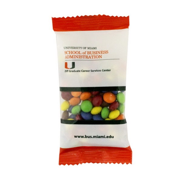 Item #ZS5-CHOCOLATE Zaga Snack Bag with Chocolate Compare to M&M(r) Candy