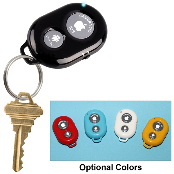 Item #AD-9300 Selfie Remote Shutter Control Key Ring