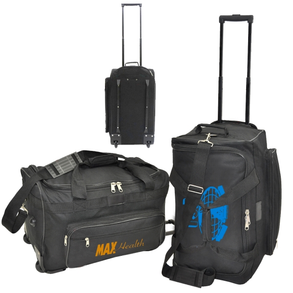 "Item #B-6911 22"" Rolling Travel Duffel Bag"